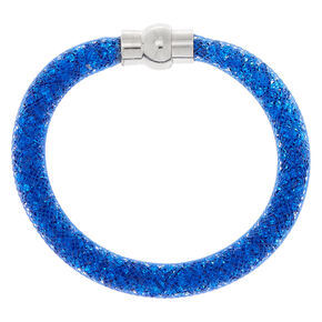 Mesh Bangle Bracelet - Cobalt,