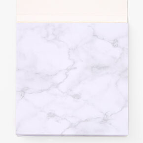 Fresh Out Of F*cks Marble Sticky Notes,