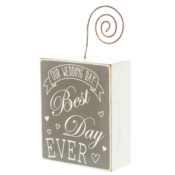 Best Day Ever Picture Holder,