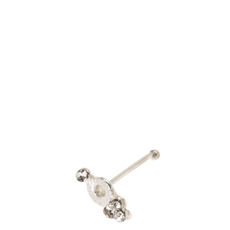 925 Sterling Silver Ornate Nose Stud,