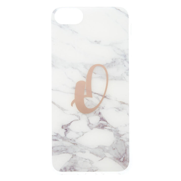 Marble O Initial Phone Case - Fits iPhone 6/7/8,