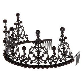 Dark Queen Crown - Black,