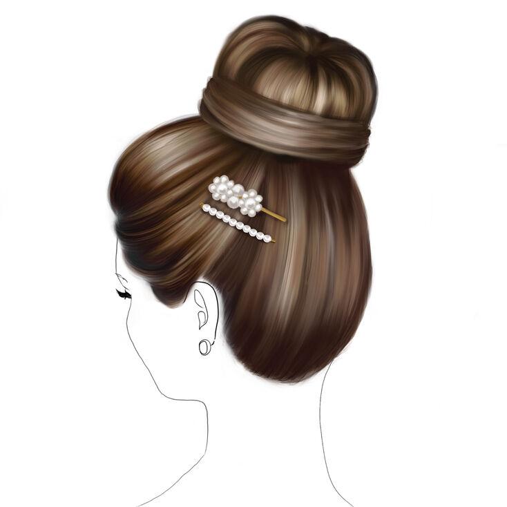 Pearl Swirl Bun Hair Tools Kit,
