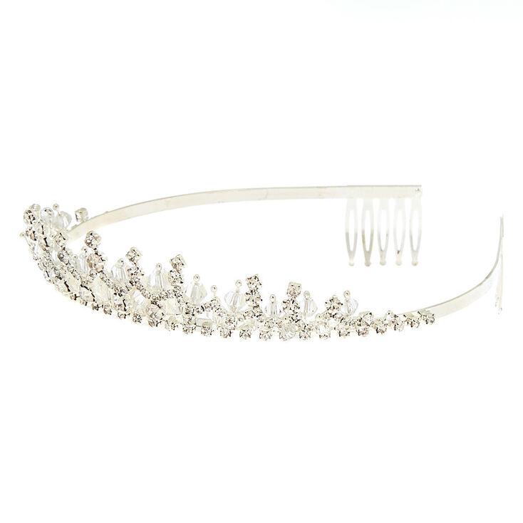 Silver Snow Queen Tiara,