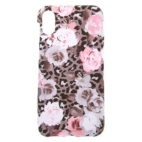 Leopard Rose Phone Case - Fits iPhone X/XS,