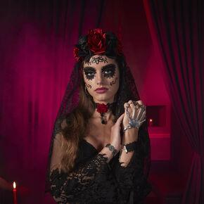 Dark Day of the Dead Costume Set,