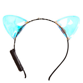 Light Up Holographic Cat Ears,