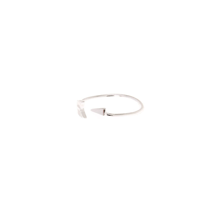 Sterling Silver Open Arrow Toe Ring,