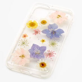 Clear Pressed Flower Phone Case - Fits iPhone 11,