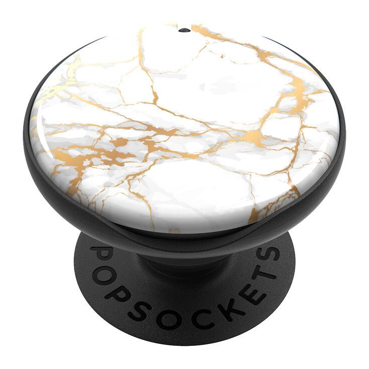 PopSockets PopMirror - Gold Marble,