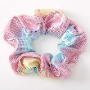 Medium Anodized Mermaid Hair Scrunchie,