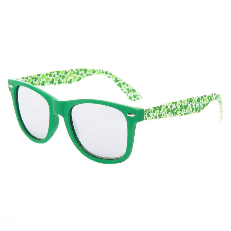 Retro Shamrock Sunglasses - Green,