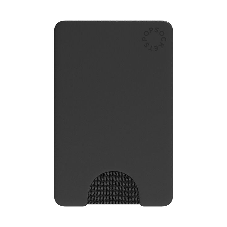 PopSockets Swappable PopWallet - Black,
