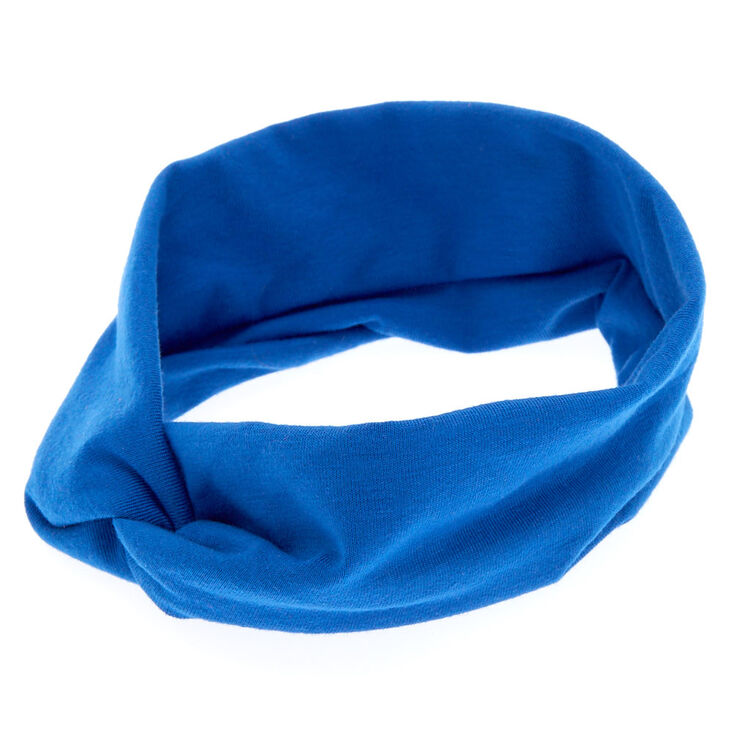 Royal Blue Headwrap,