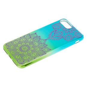 Green Zen Mandala Phone Case - Fits iPhone 6/7/8 Plus,
