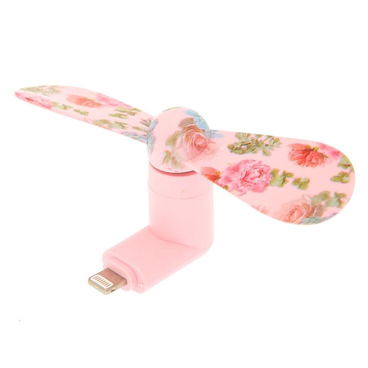 Desert Rose Phone Fan - Pink,