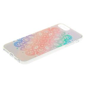 Pastel Holographic Mandala Phone Case,