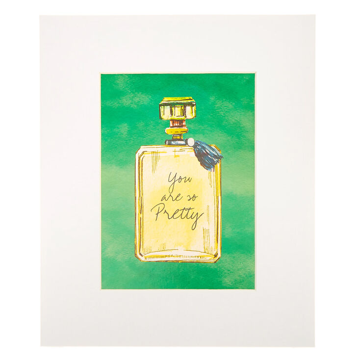 You Are So Pretty Perfume Bottle Mini Wall Art,