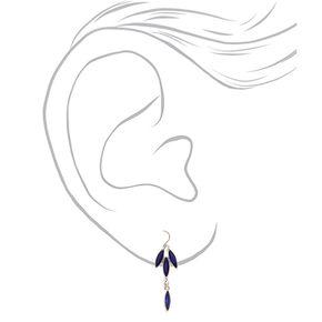 Silver Vine Jewelry Set - Sapphire Blue,