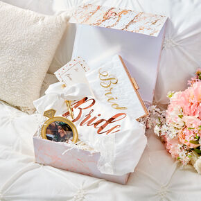 Rose Gold Bridal Gift Set,