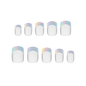 PopSockets PopGrip & Press On Faux Nail Set - Opal,