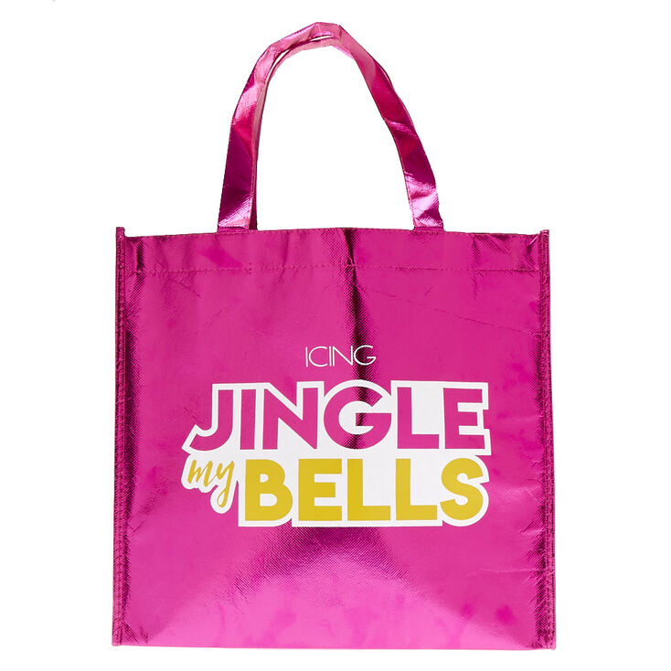 Large Holiday Reusable Tote Bag,