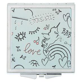 Doodle Compact Mirror,