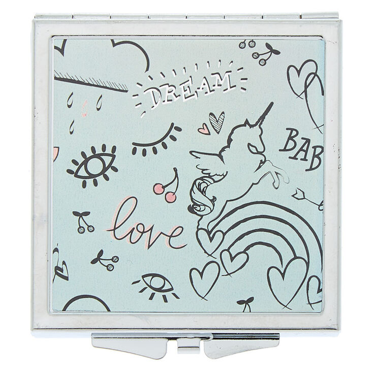 Doodle Compact Mirror,