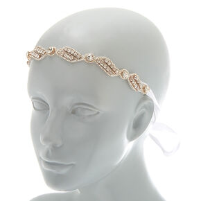 2-In-1 Rhinestone Belt & Headwrap,