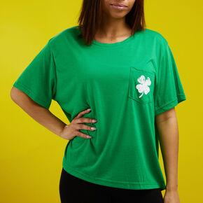 St. Patrick's Day Shamrock Tee Shirt - Green,