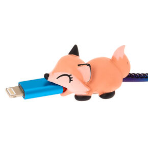 Fox Cable Critter - Coral,