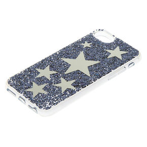 Mirrored Star Phone Case - Blue,