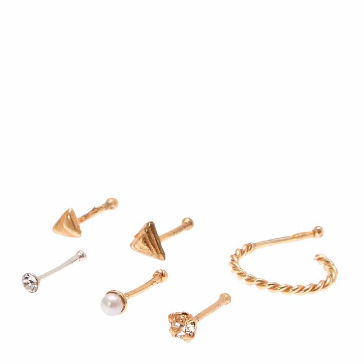 925 Sterling Siler Pretty Nose Stud Collection,