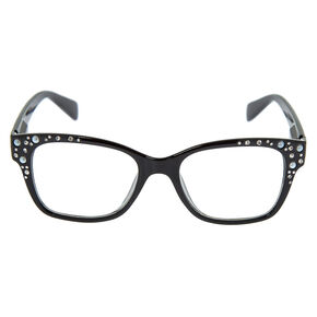 Embellishes Retro Clear Lens Frames - Black,