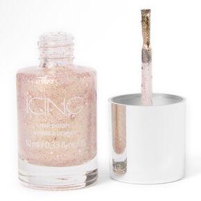 Glitter Nail Polish - Gold,