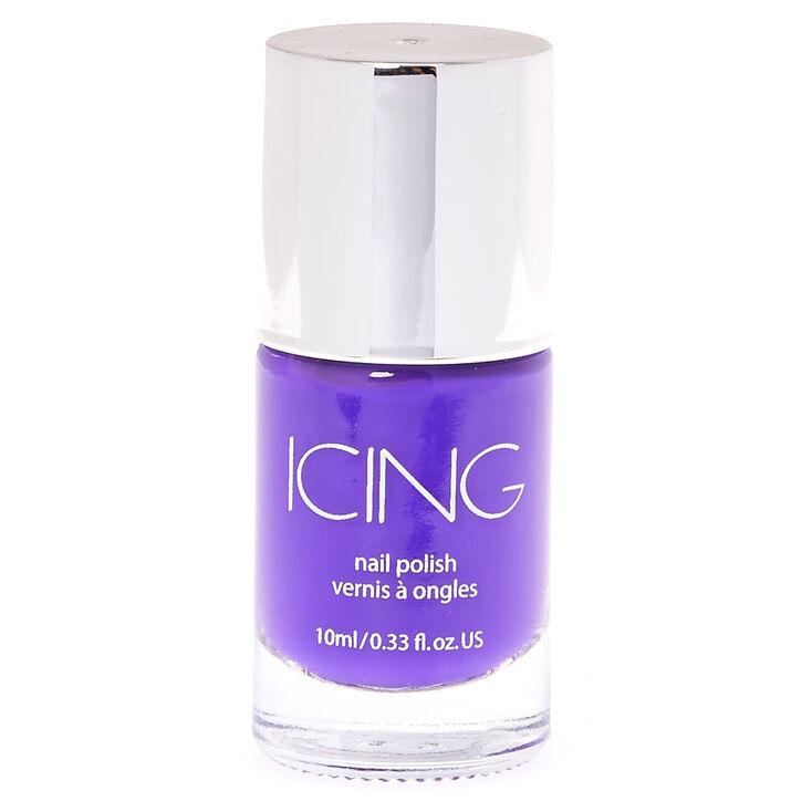 Kiss My Plum Purple Nail Polish,