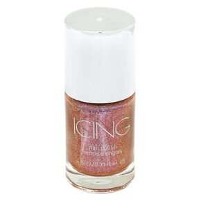 Shimmer Nail Polish - Pink Copper,
