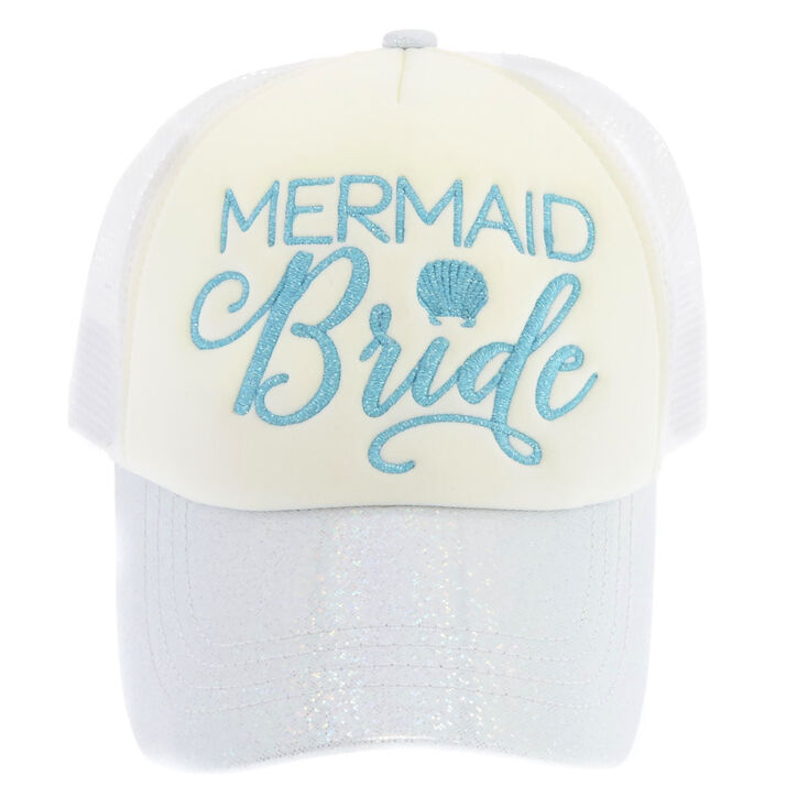 Mermaid Bride Trucker Hat,