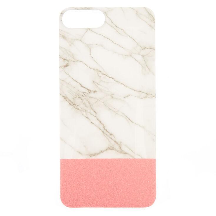 big sale da61c 909c7 Marble & Pink Phone Case - Fits iPhone 6/7/8 Plus