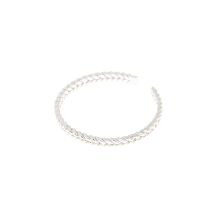 925 Sterling Silver Twist Toe Ring,