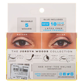 Eylure by Jordyn Woods LA Baby False Lashes,