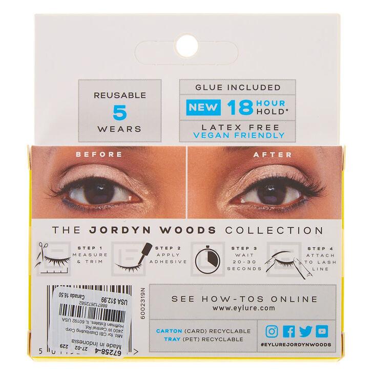 Eylure by Jordyn Woods LA Baby False Lashes,