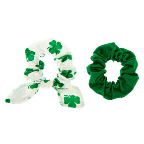 Shamrock Hair Scrunchies - 2 Pack,