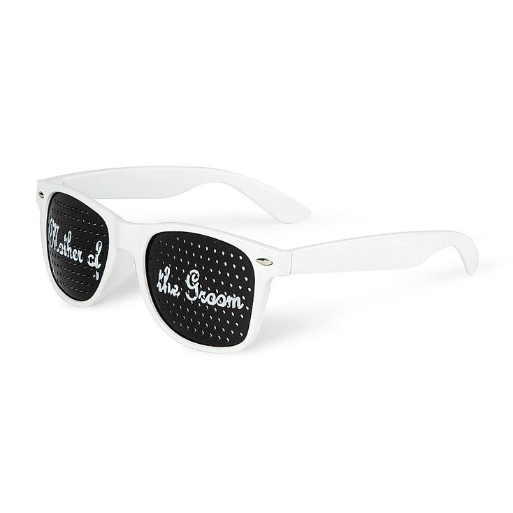 Mother of the Groom Perforated Lens Sunglasses,