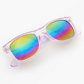 Retro Frost Sunglasses - Purple,