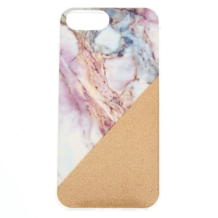 Pastel Marble Geometric Phone Case - Fits iPhone 6/7/8 Plus,