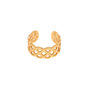 Gold Celtic Knot Toe Ring,