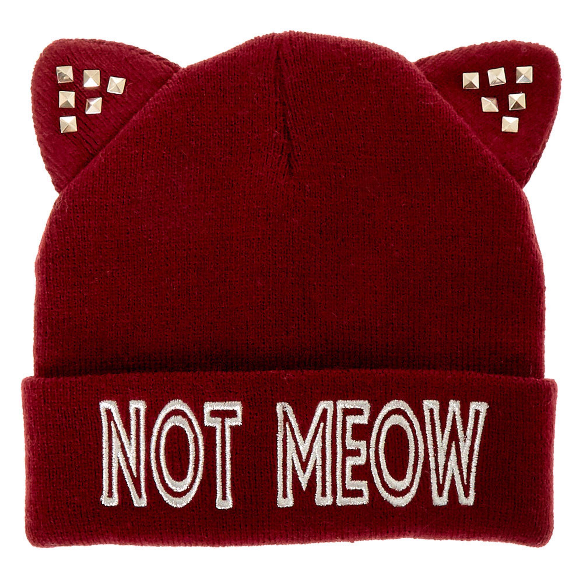 Not Meow Beanie ... 33726e1f70c
