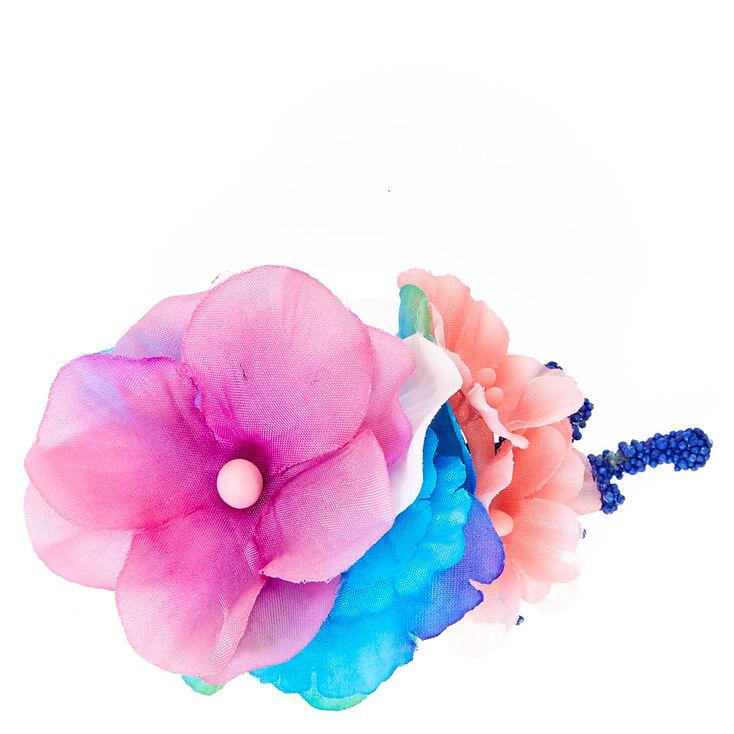 Tropical Mermaid Flower Hair Clip,