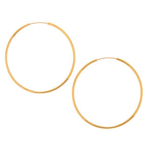 18kt Gold Plated 30MM Hoop Earring,